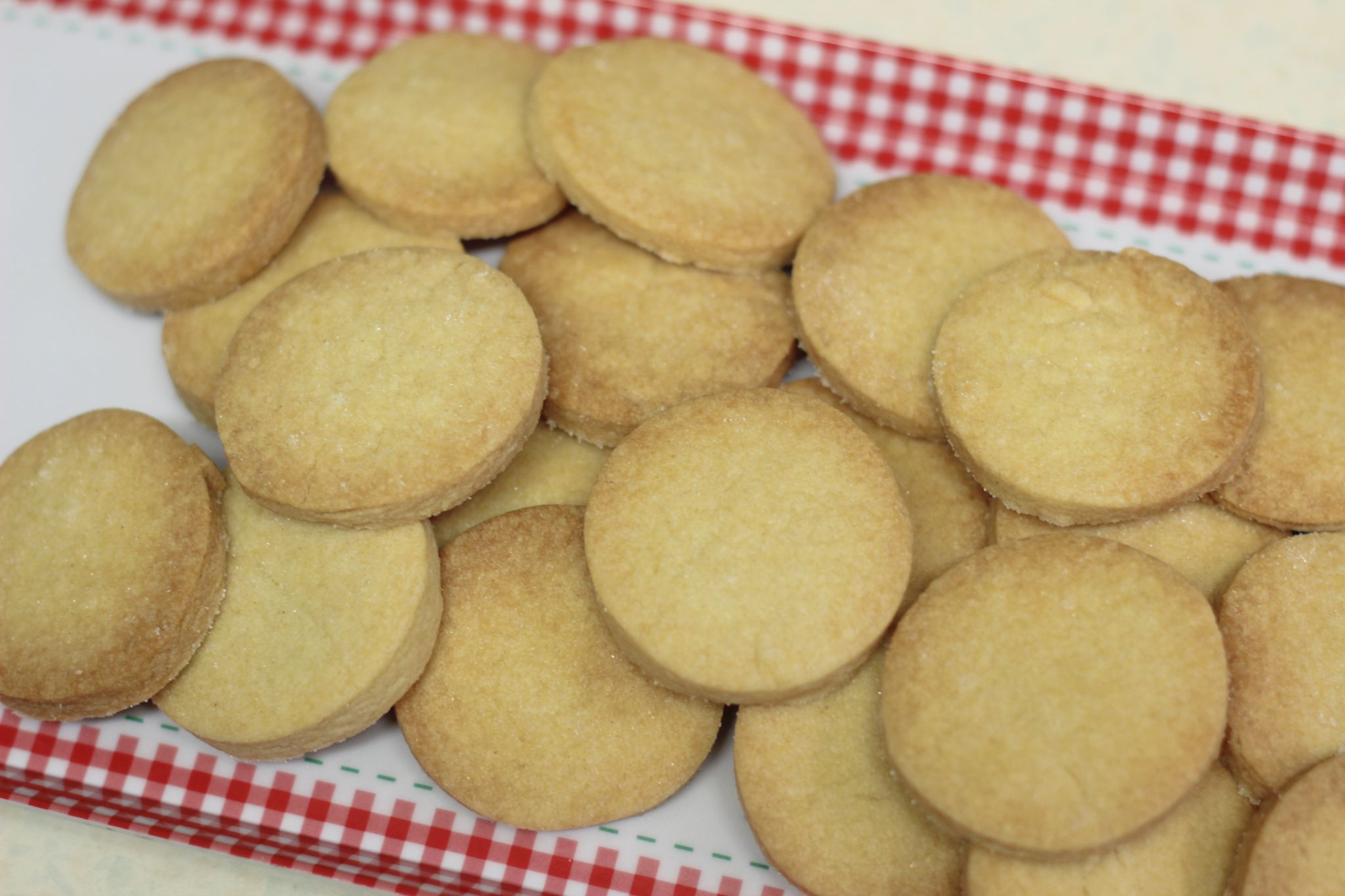 GBBO Shortbread Biscuits