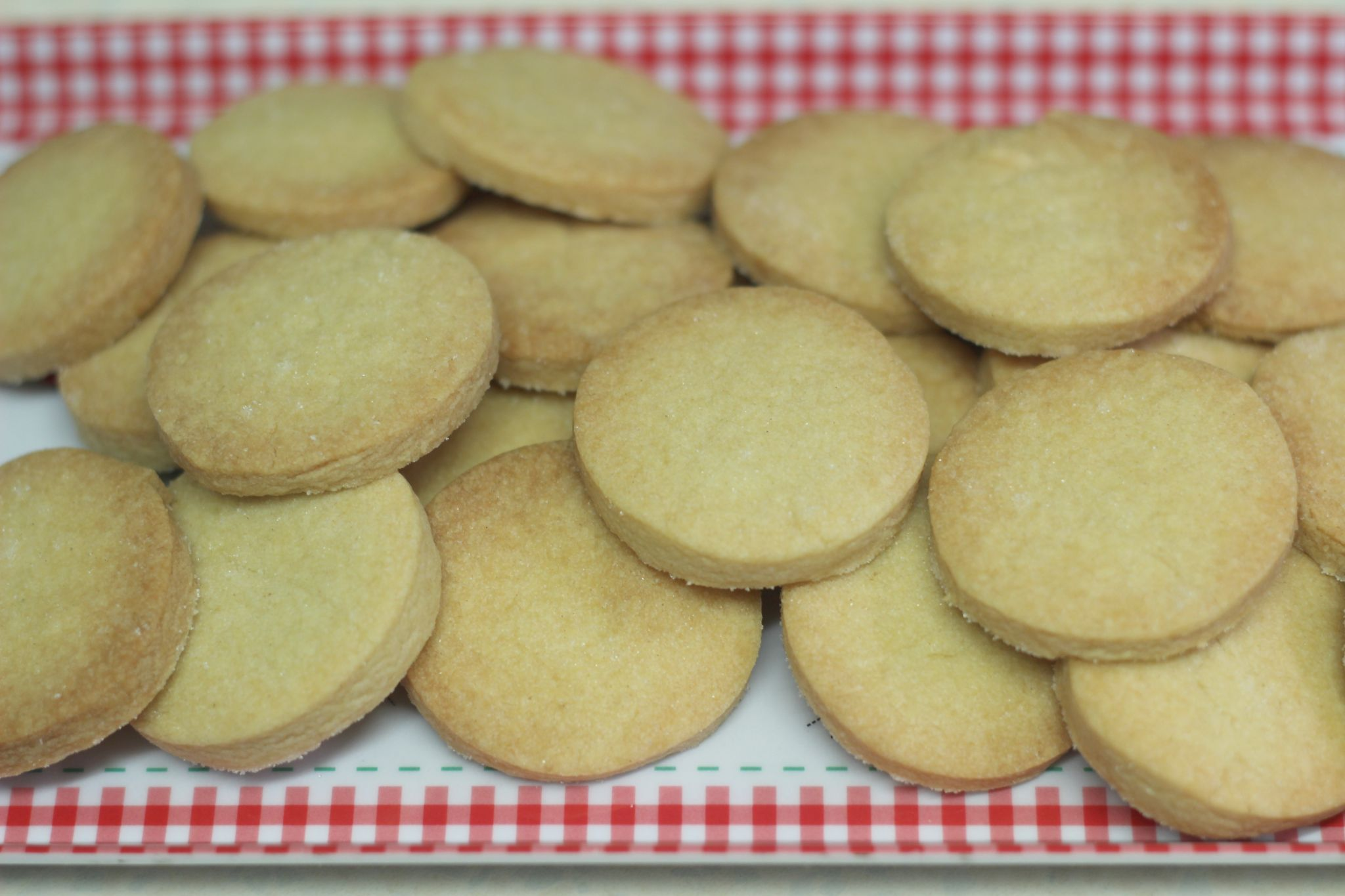 GBBO Shortbread Biscuits Rounds