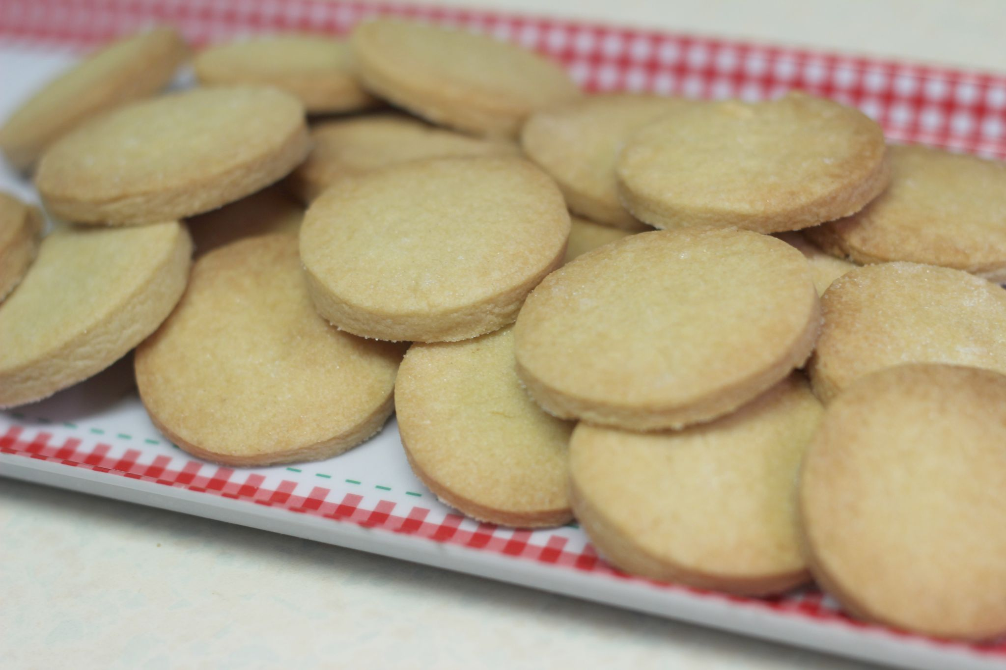 GBBO Shortbread Cookies