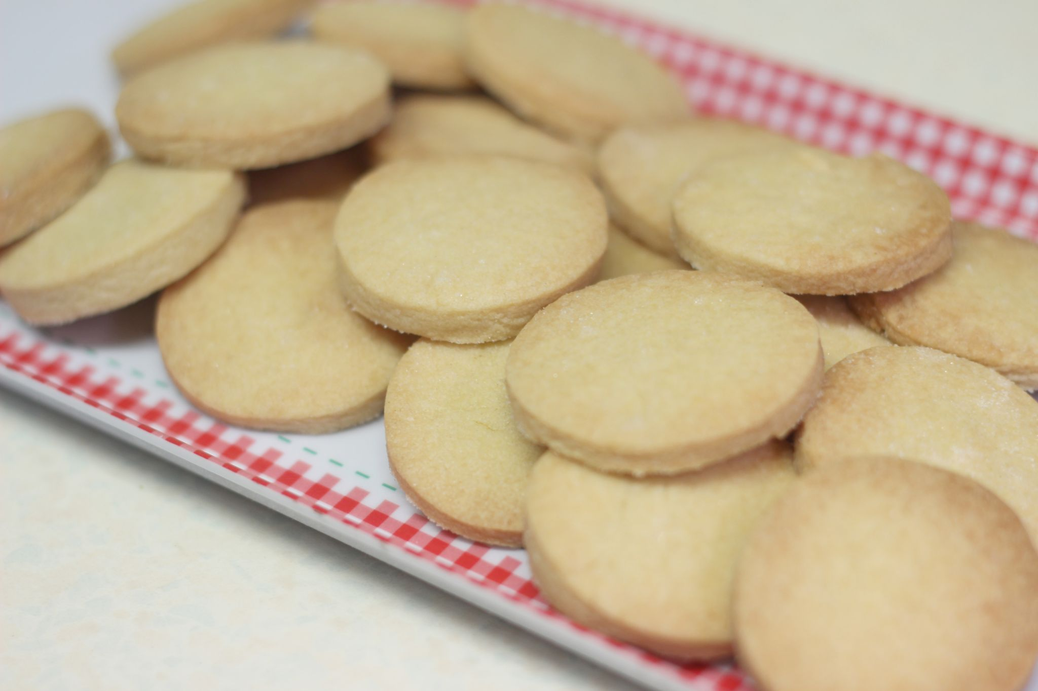 GBBO Shortbread Rounds