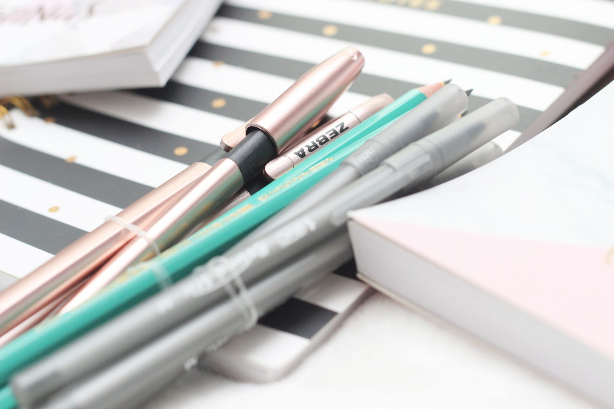 first year stationery pens and pencils