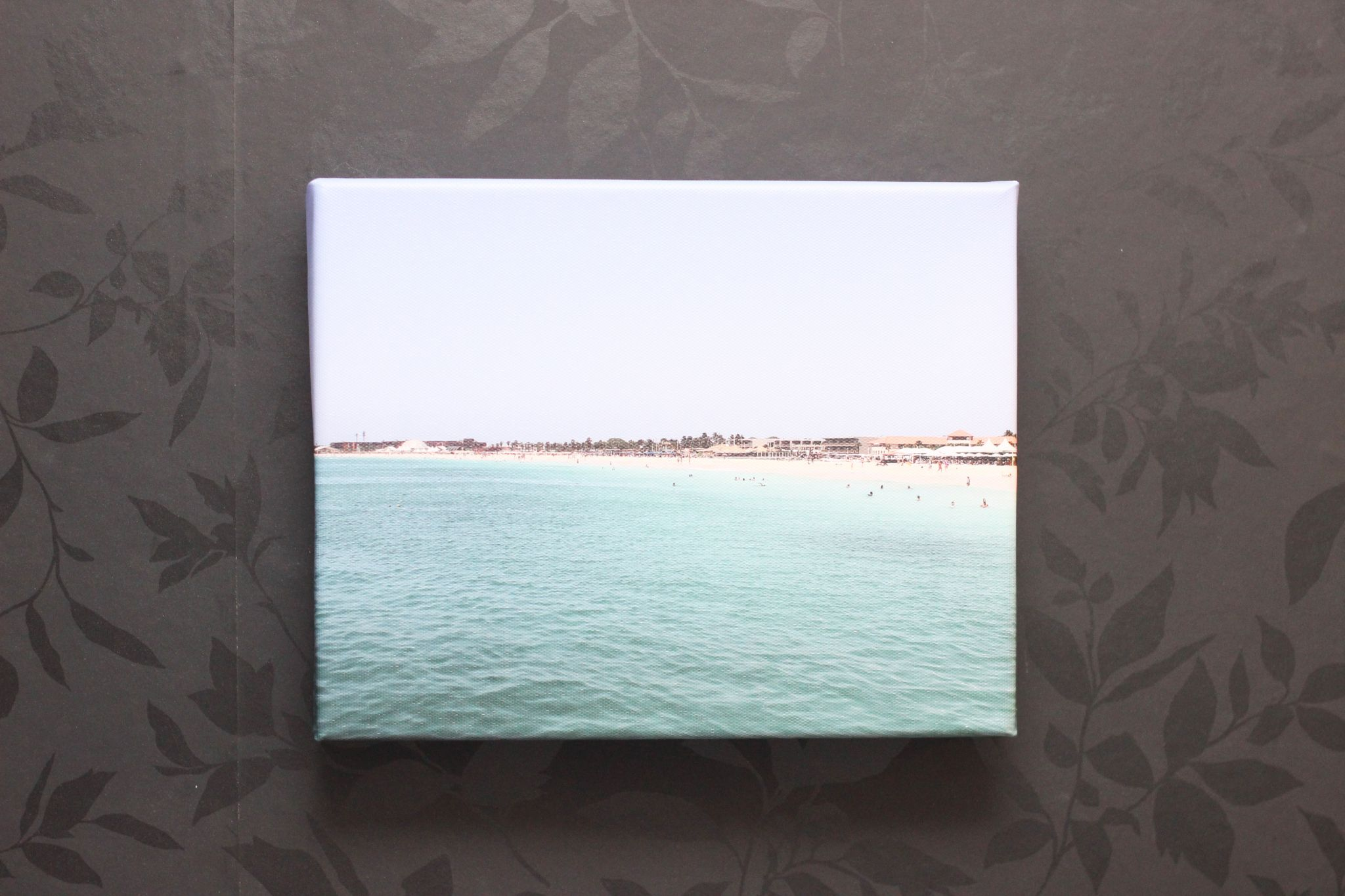 Tesco Photo Beach Canvas