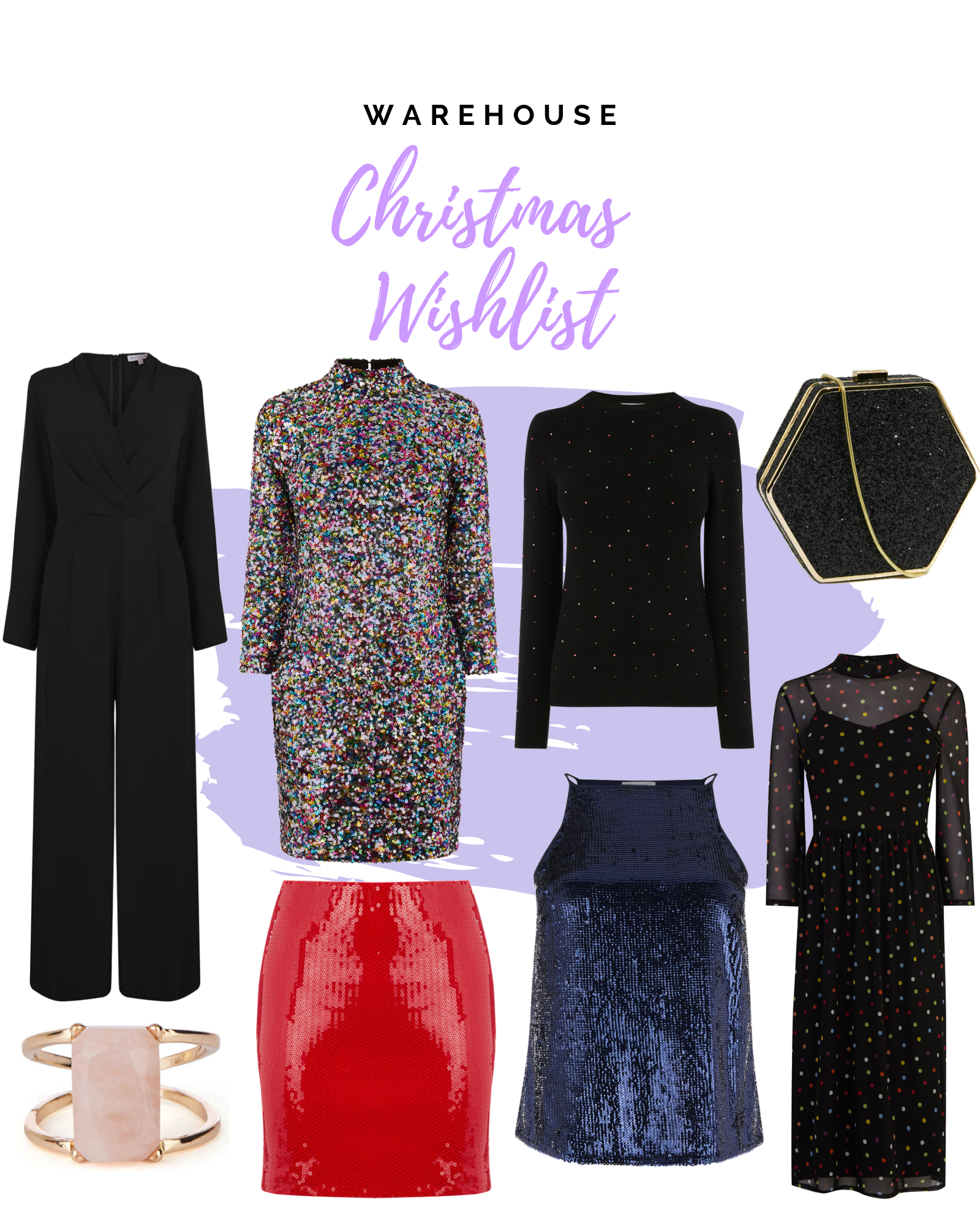 Christmas Party Warehouse Wishlist